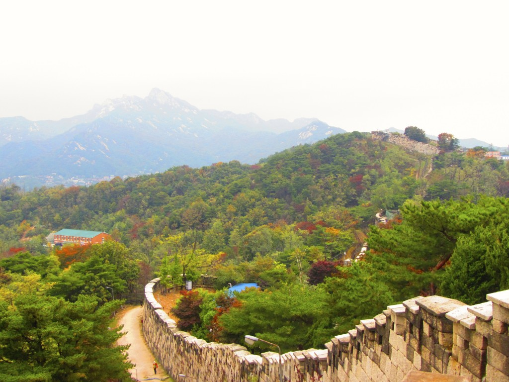 Touring the Ramparts of Seoul Korea 30