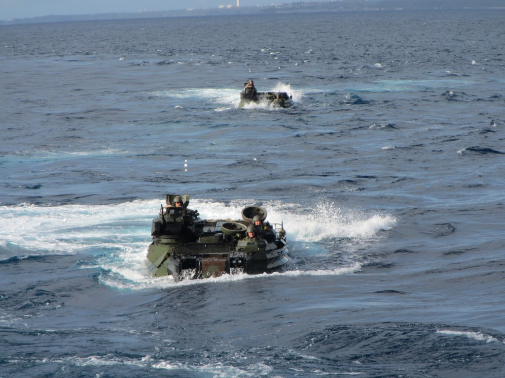 AAV operations USN 7