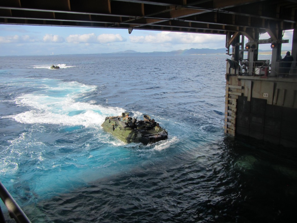 AAV operations USN 8