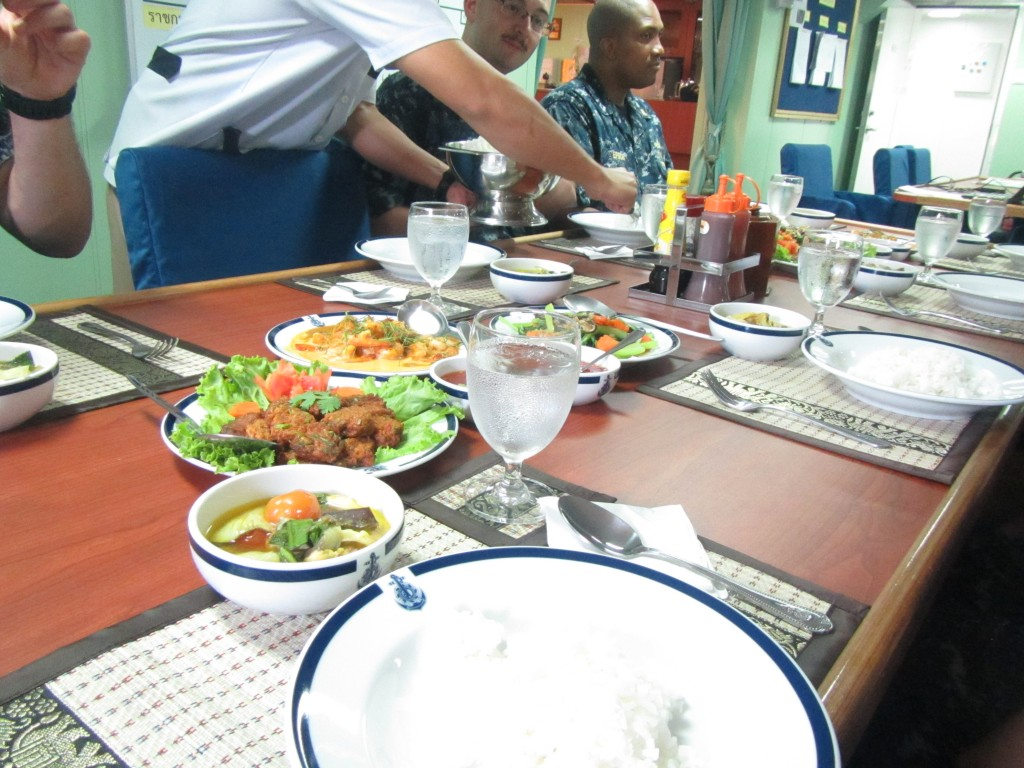 Lunch on a Thai Warship 2
