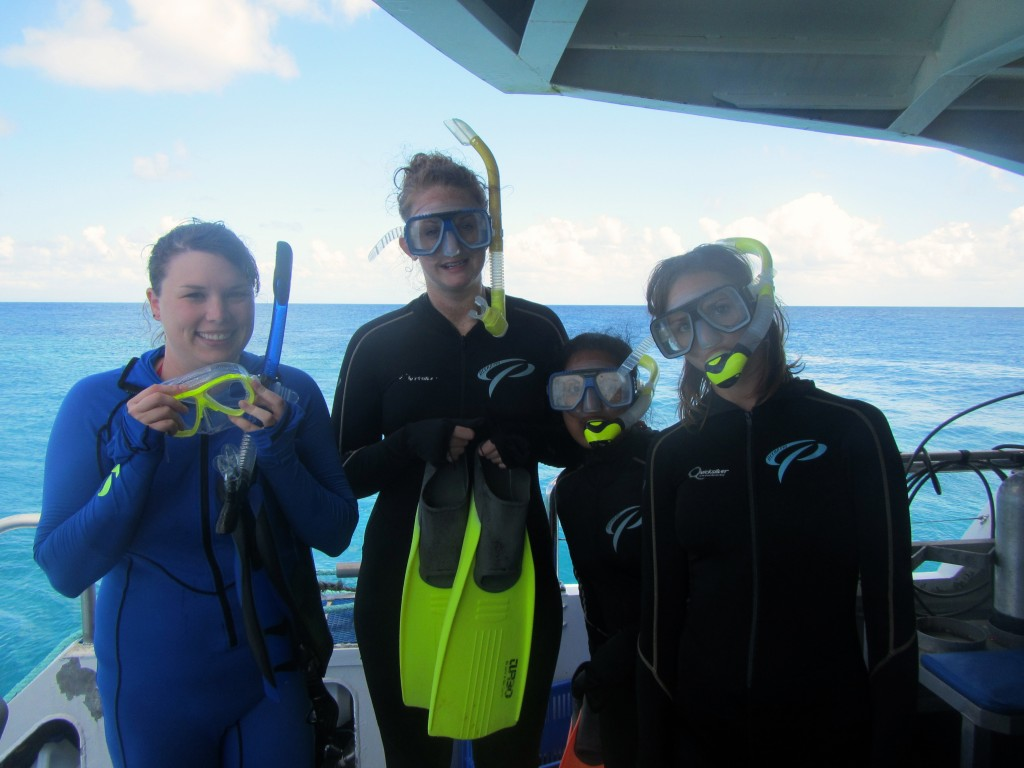Snorkeling the Great Barrier Reef 44
