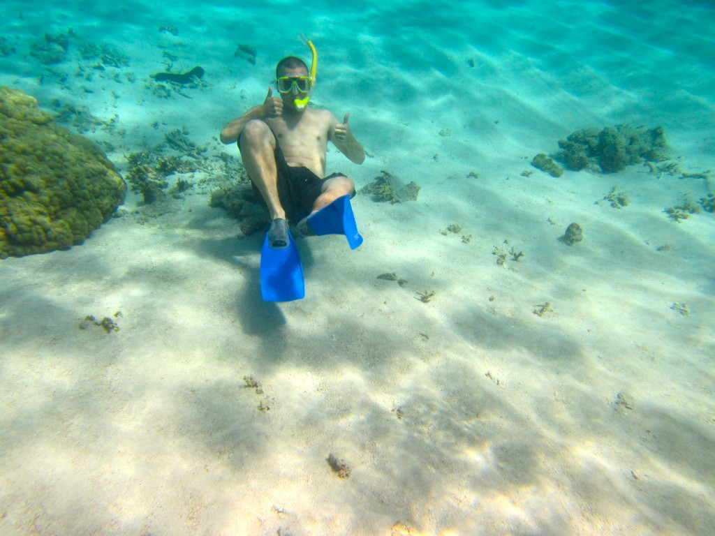 Snorkeling the Great Barrier Reef 2