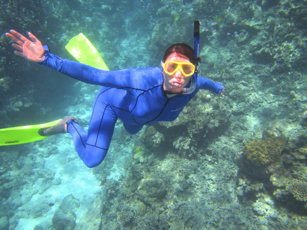 Snorkeling the Great Barrier Reef 14