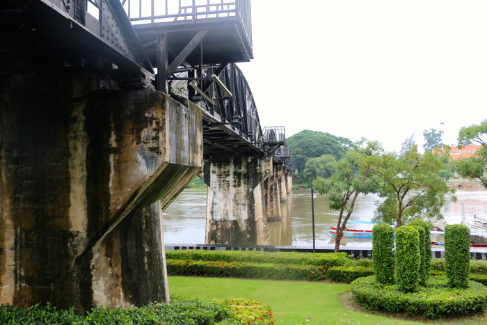 Bridge over the River Kwai Thailand 6