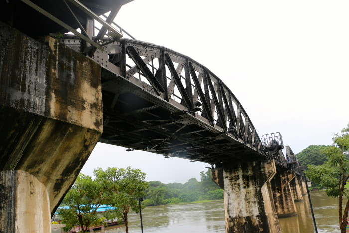 Bridge over the River Kwai Thailand 7