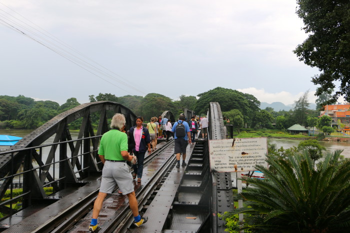 Bridge over the River Kwai Thailand 8