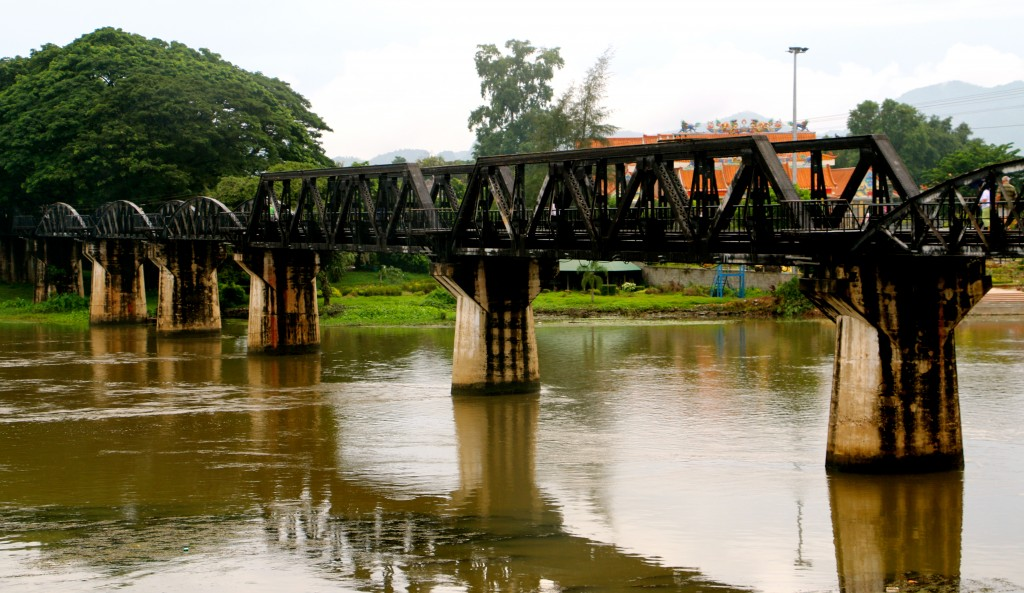 Bridge over the River Kwai Thailand 2