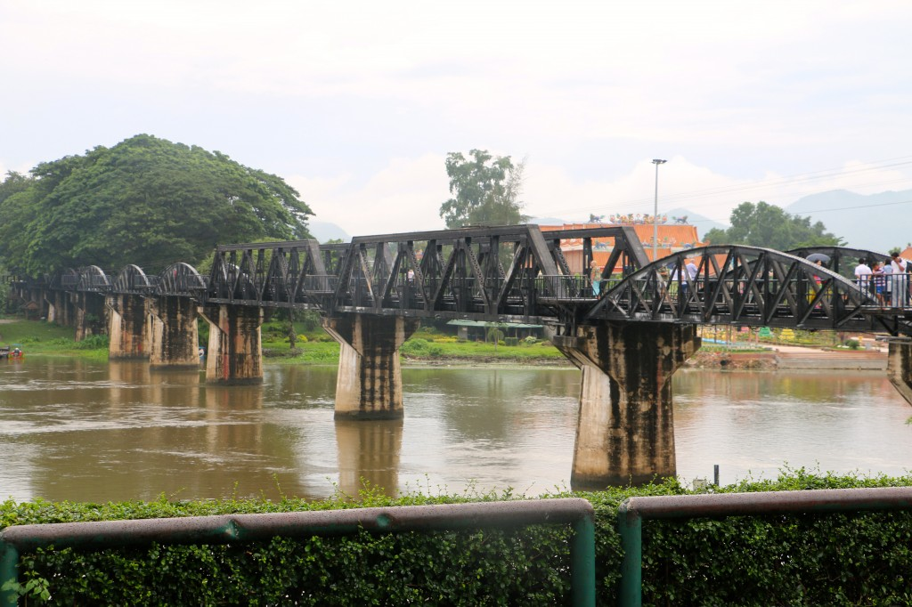 Bridge over the River Kwai Thailand 3
