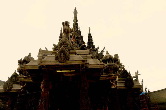 Sanctuary of Truth Pattaya Thailand 50