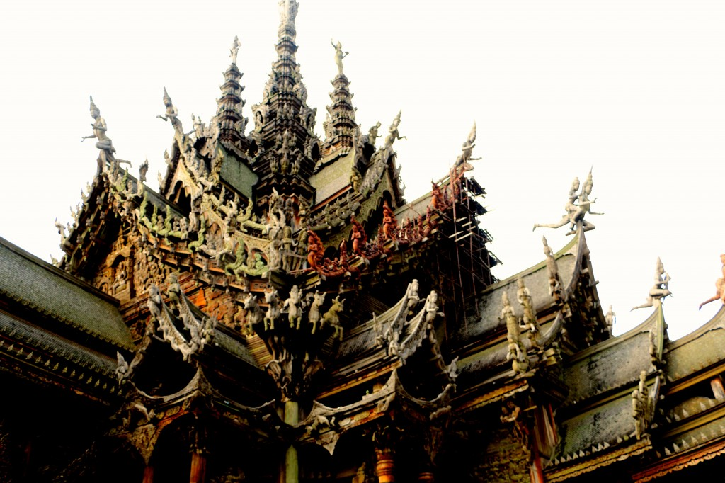 Sanctuary of Truth Pattaya Thailand 53