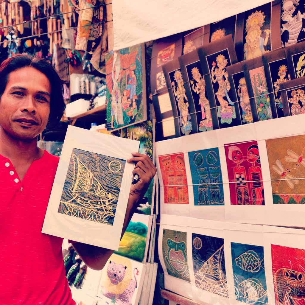 Local Artist in Bali Indonesia
