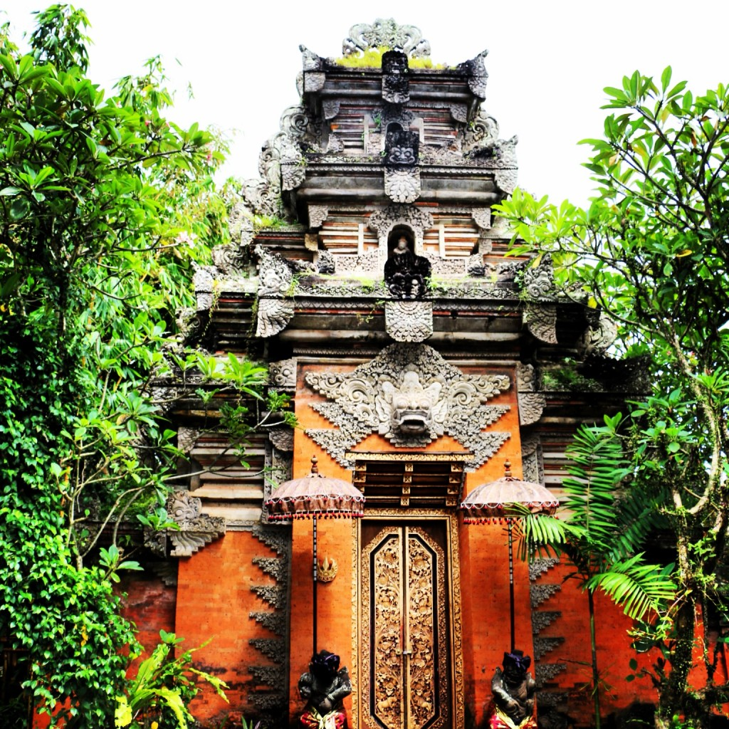 King's Palace in Ubud, Bali Indonesia