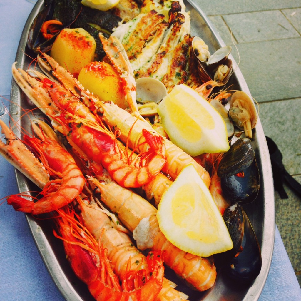 Seafood in Barcelona!