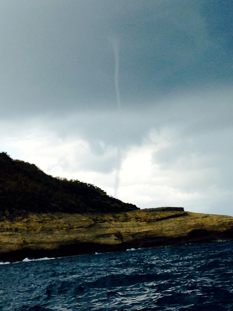 Water Spout off the coast of Napoli 3
