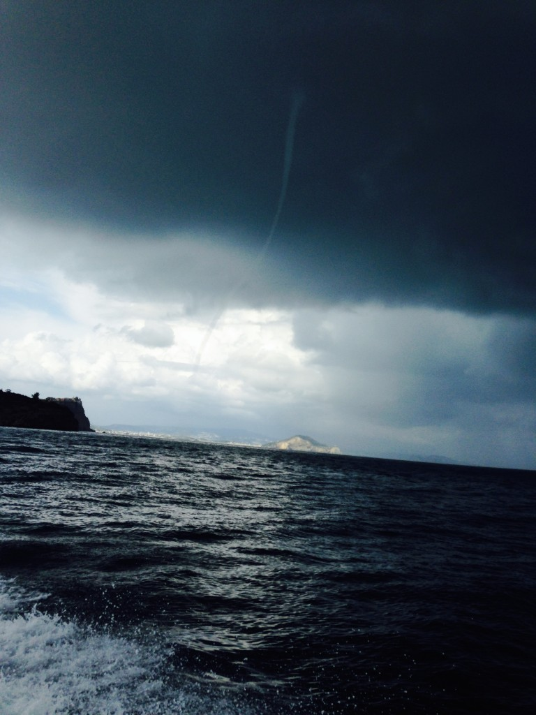 Water Spout off the coast of Napoli 5