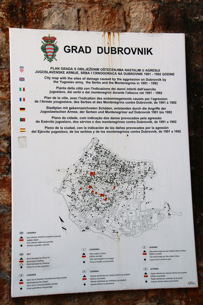 Dubrovnik War Attack on Old Town