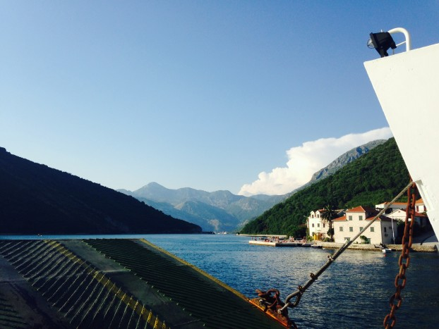 Ferry Ride in Montenegro