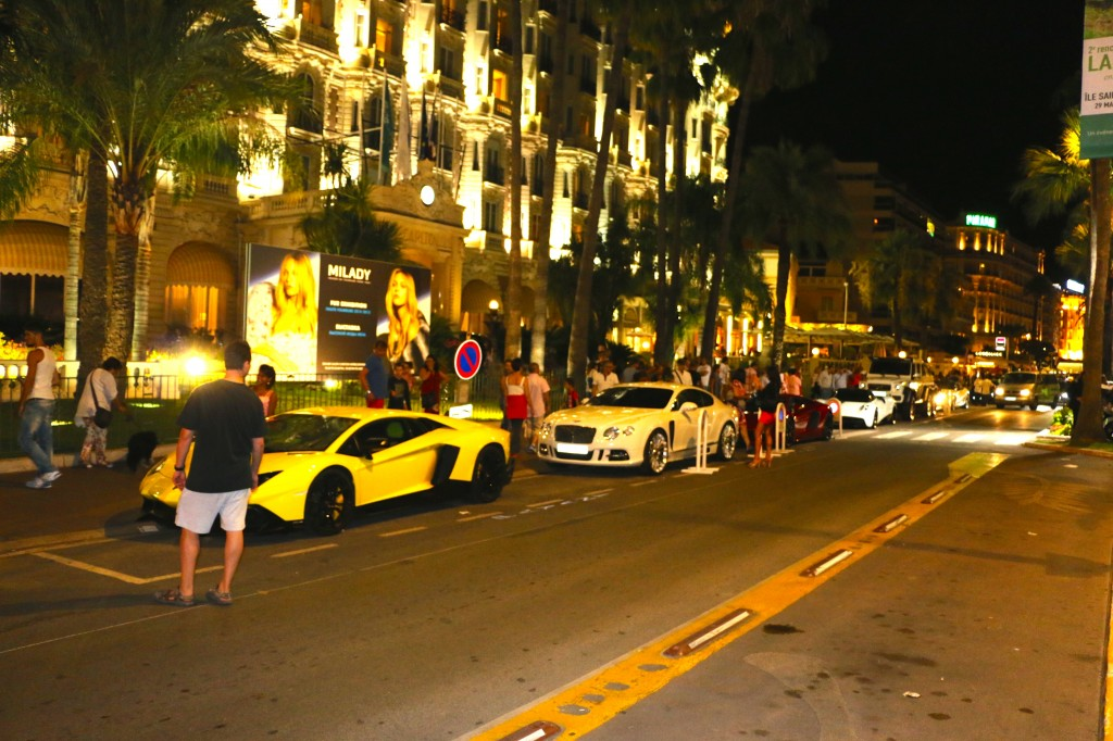 Downtown Cannes France, Very Upscale