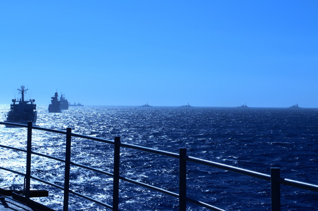 Naval Exercise off the Coast of France 2