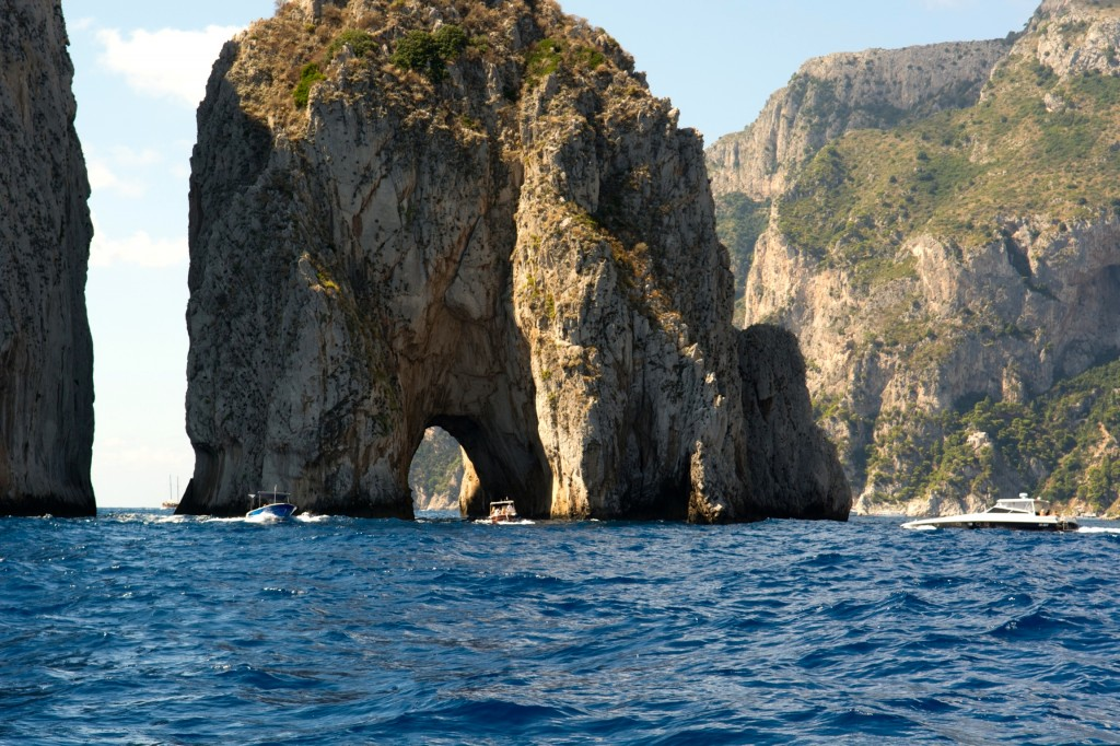 Boating in Capri 2