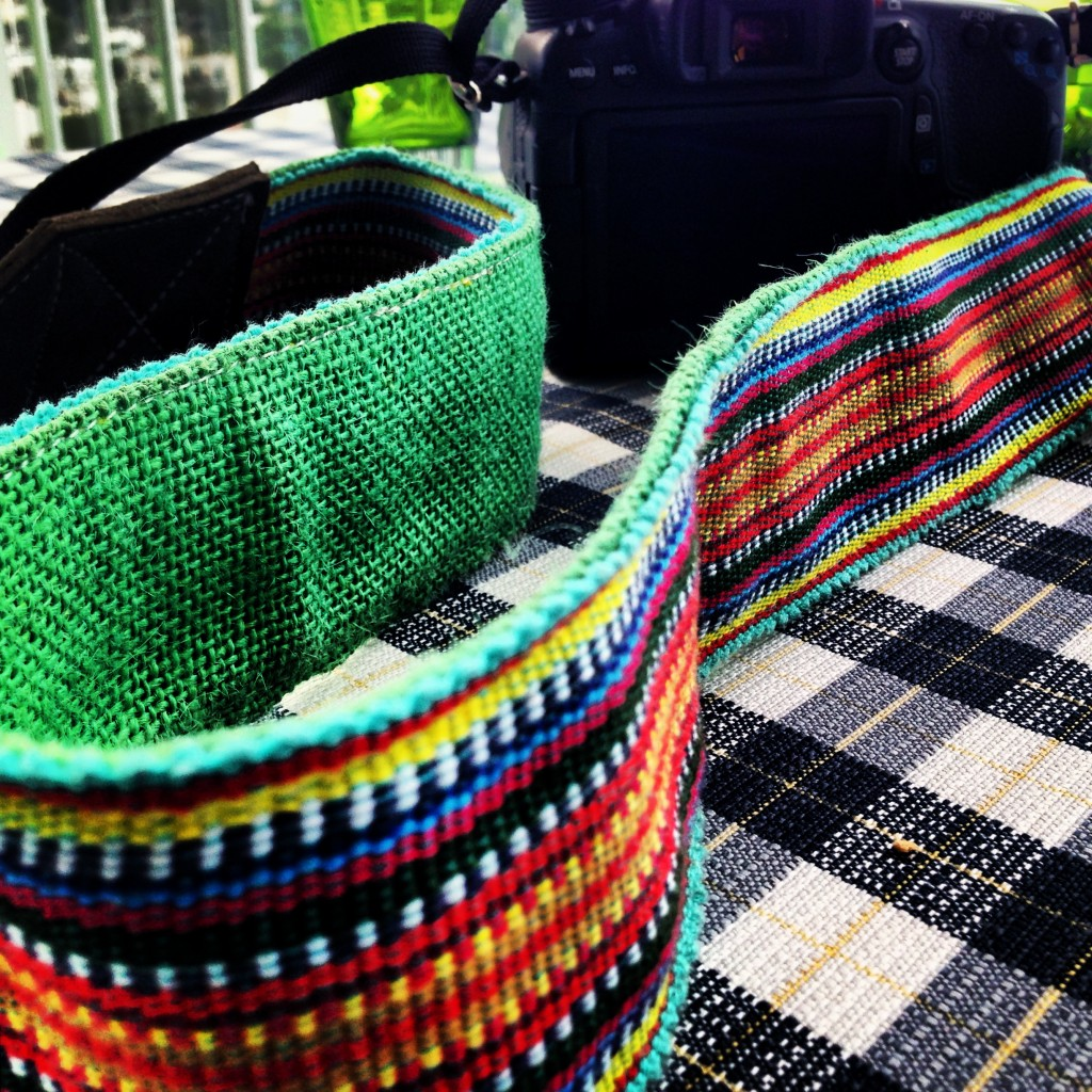 New Camera Strap from Guatemala