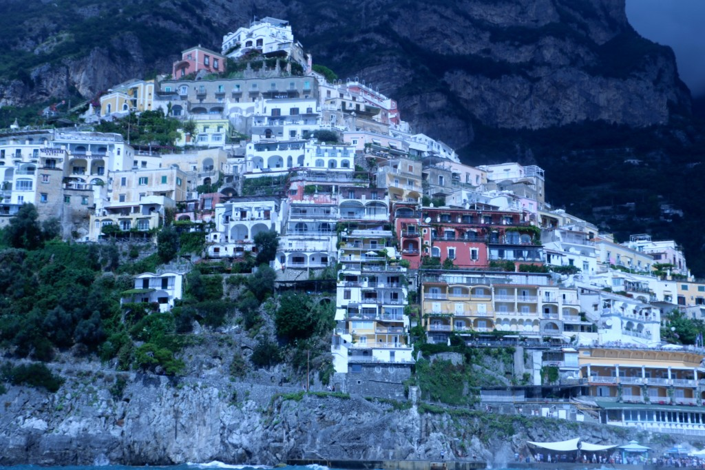 Positano Italy from the Sea