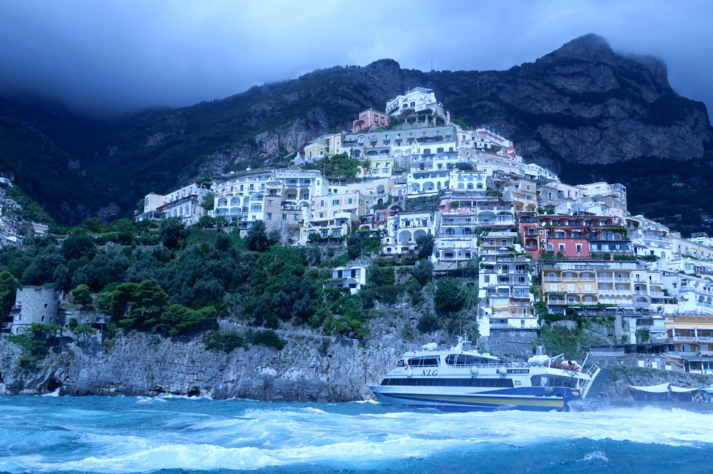 Positano Italy from the Sea 4