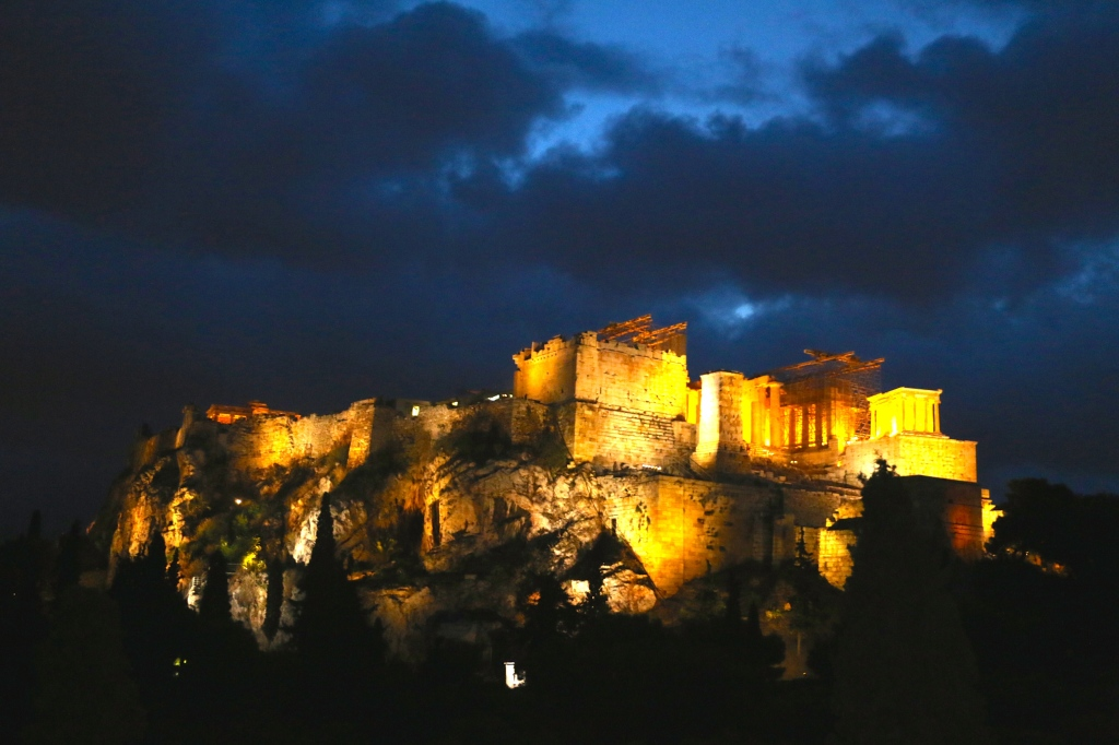 Sunrise at the Acropolis Greece 5