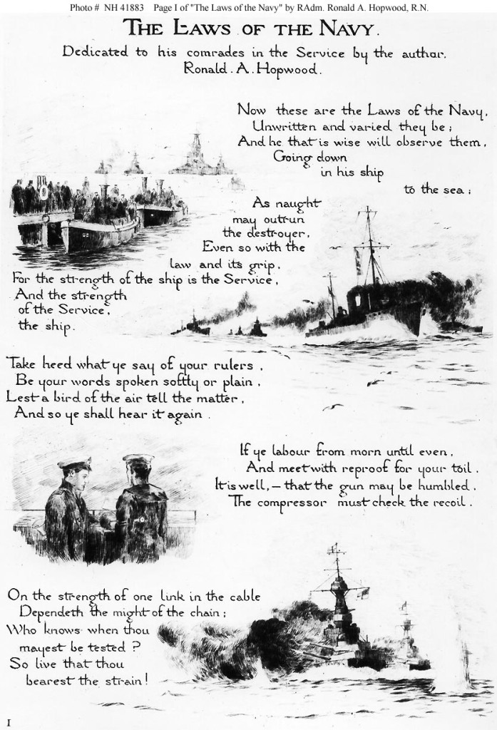 Laws of the Navy