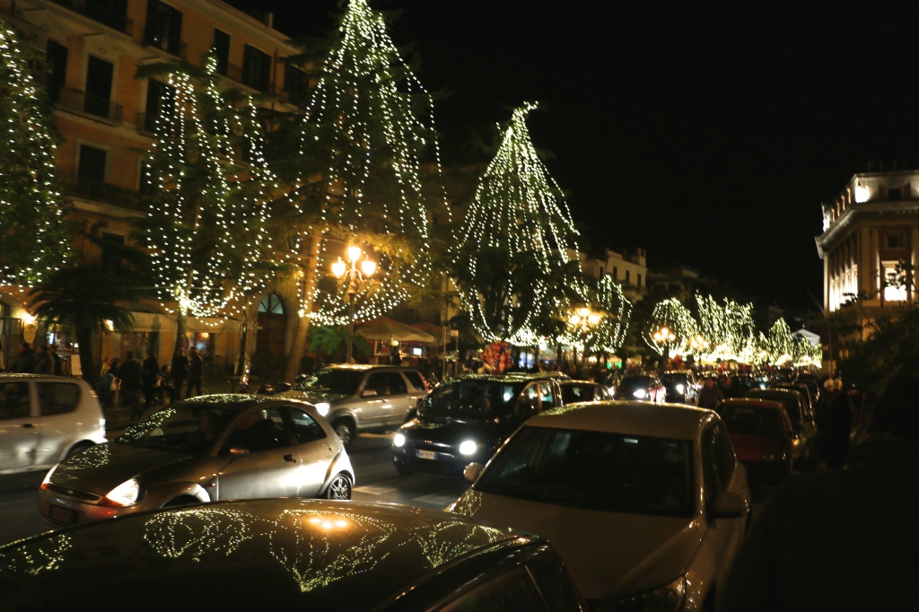 Festive Lights of Salerno Italy 5