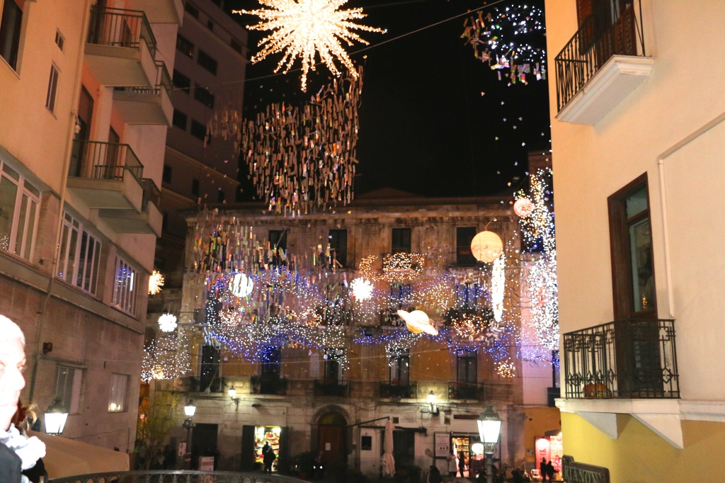Solar System Lights Salerno Italy