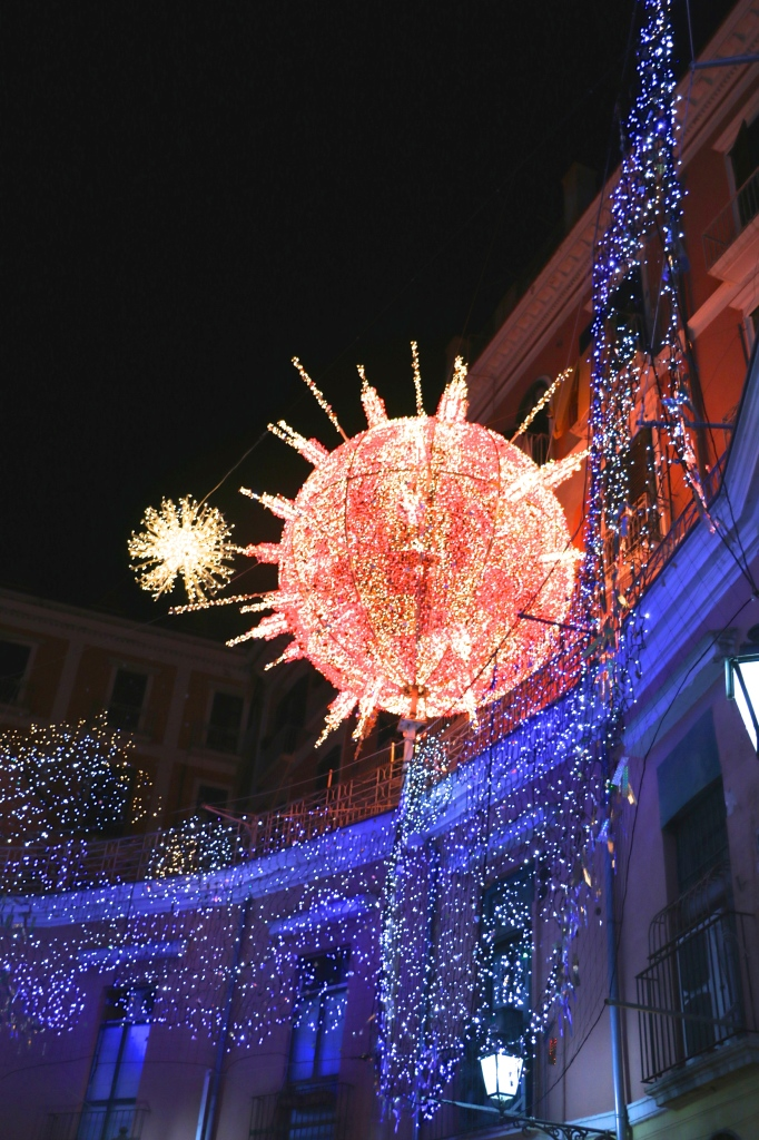 Solar System Lights Salerno Italy 2