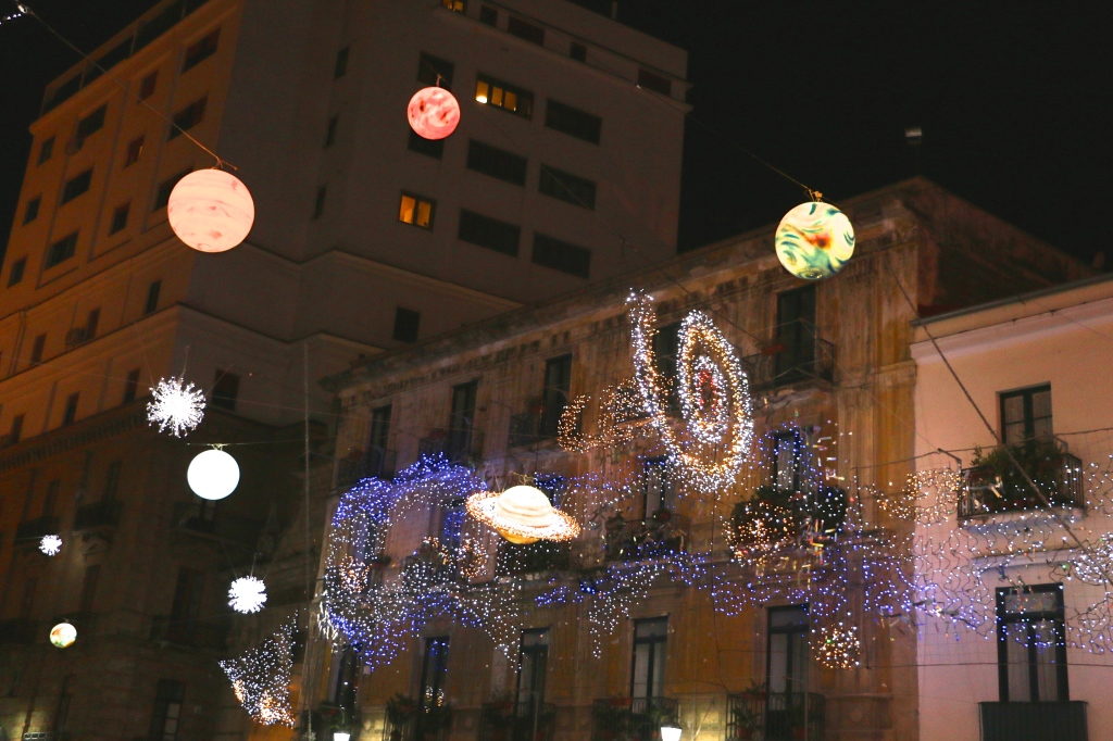 Solar System Lights Salerno Italy 3