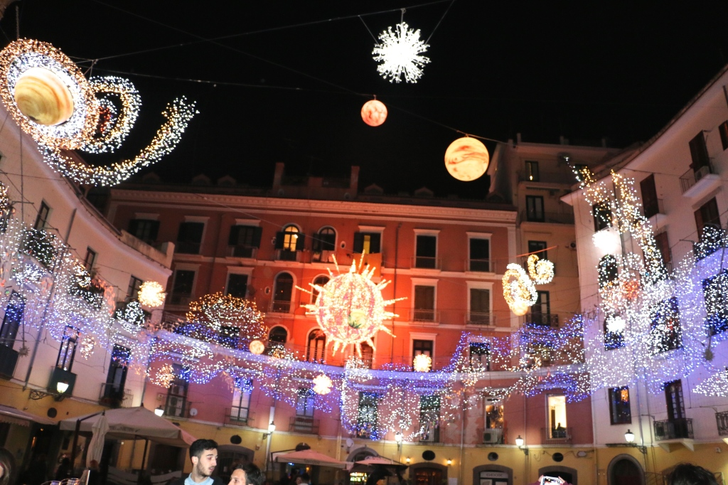 Solar System Lights Salerno Italy 4