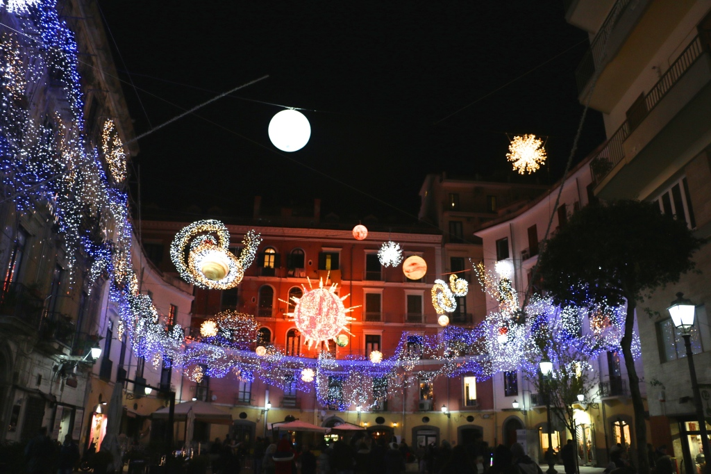 Solar System Lights Salerno Italy 6