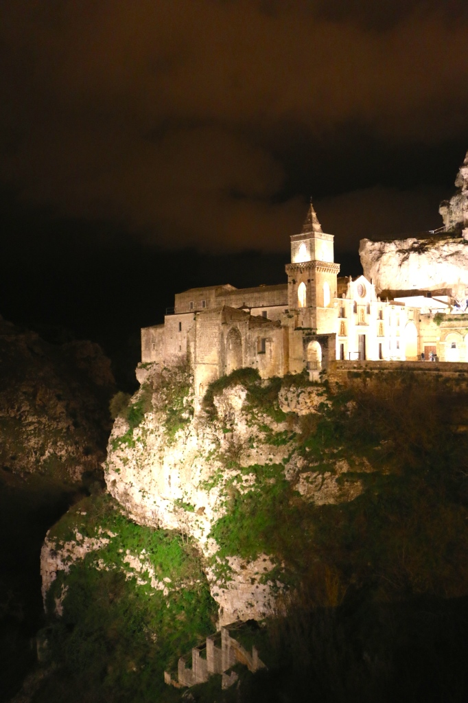 Matera Italy at night 2