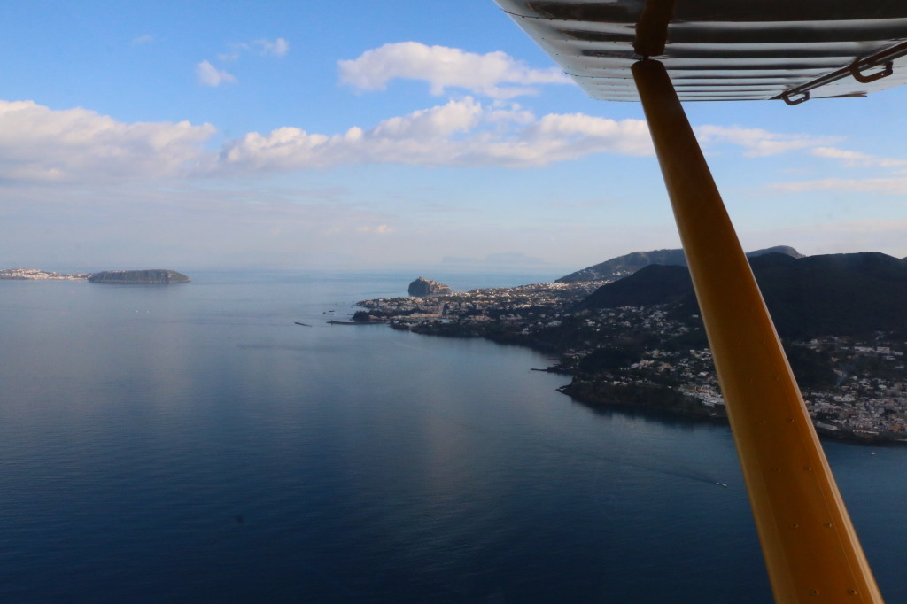 flying a plane to Italian Islands 34