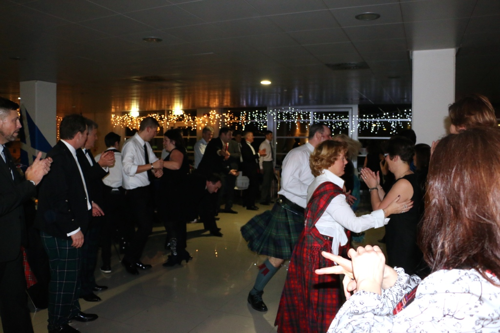 Robert Burns Supper in Italy 16