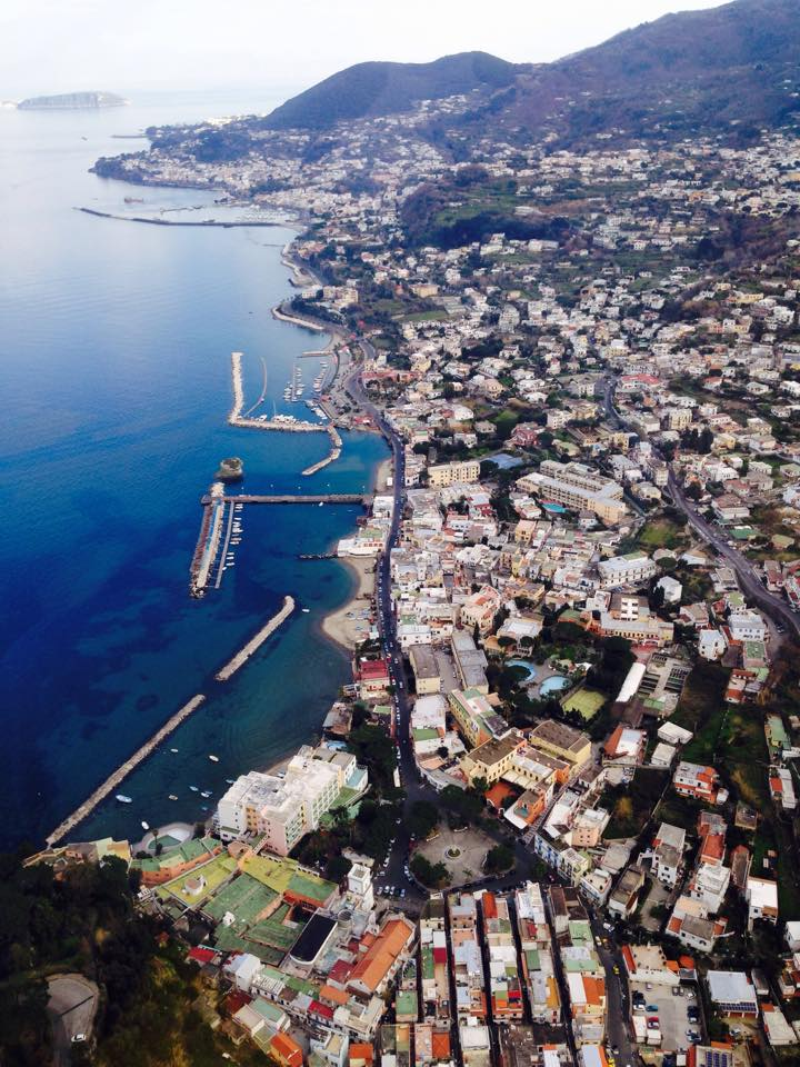 Ischia, Italy, Island off the coast of Naples