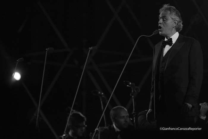 Andrea Bocelli Concert, Caserta Palace Italy 65