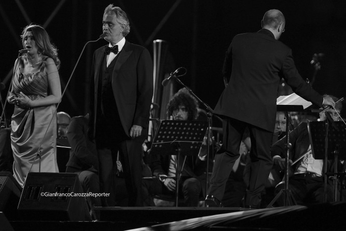 Andrea Bocelli Concert, Caserta Palace Italy 66