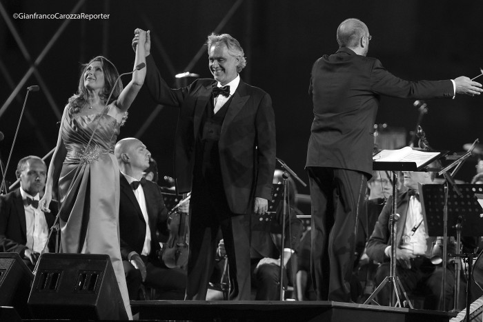 Andrea Bocelli Concert, Caserta Palace Italy 67