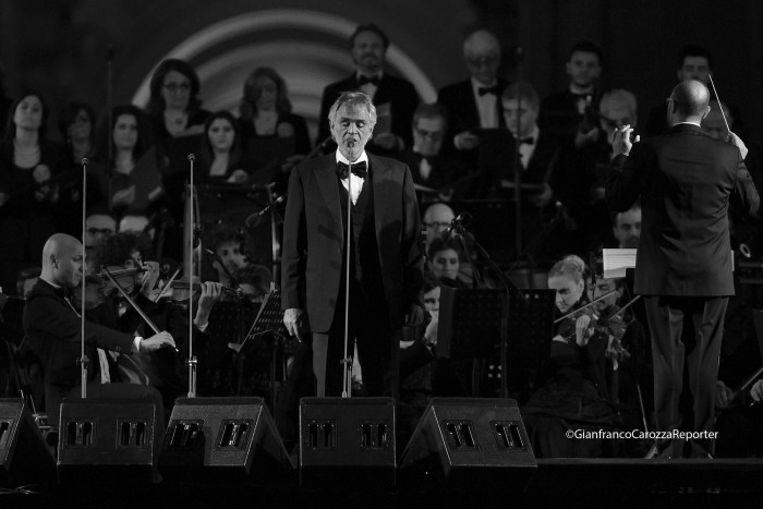 Andrea Bocelli Concert, Caserta Palace Italy 69