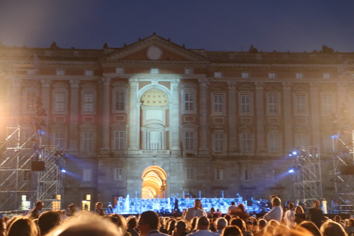 Andrea Bocelli Concert, Caserta Palace Italy 42