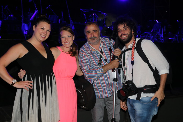 Andrea Bocelli Concert, Caserta Palace Italy 45