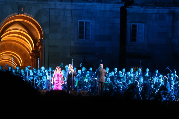 Andrea Bocelli Concert, Caserta Palace Italy 53