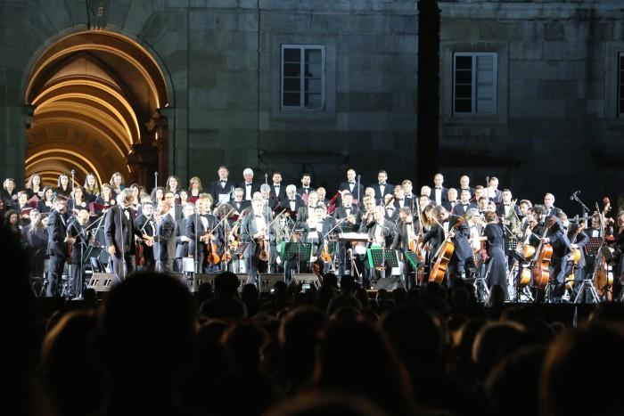 Andrea Bocelli Concert, Caserta Palace Italy 60