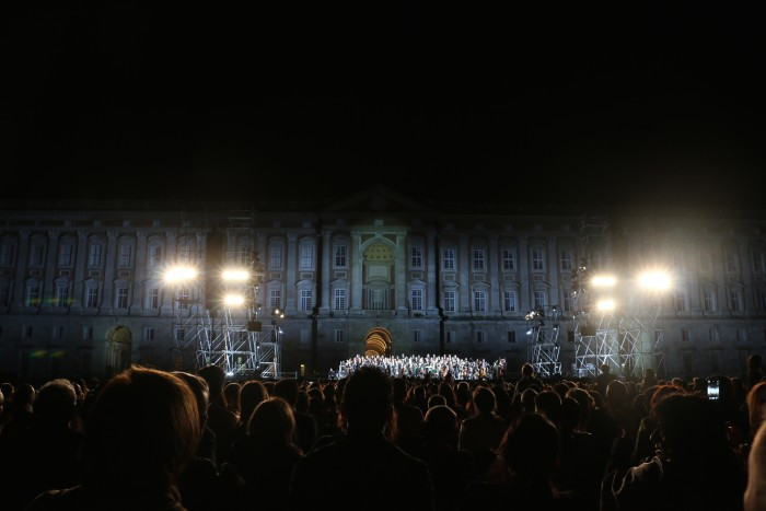 Andrea Bocelli Concert, Caserta Palace Italy 61