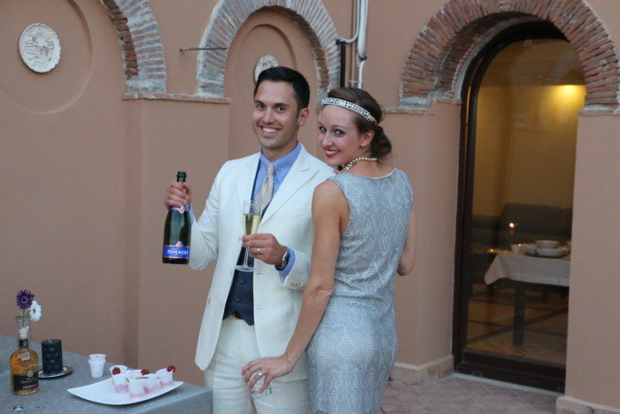 Great Gatsby party at a castle 2