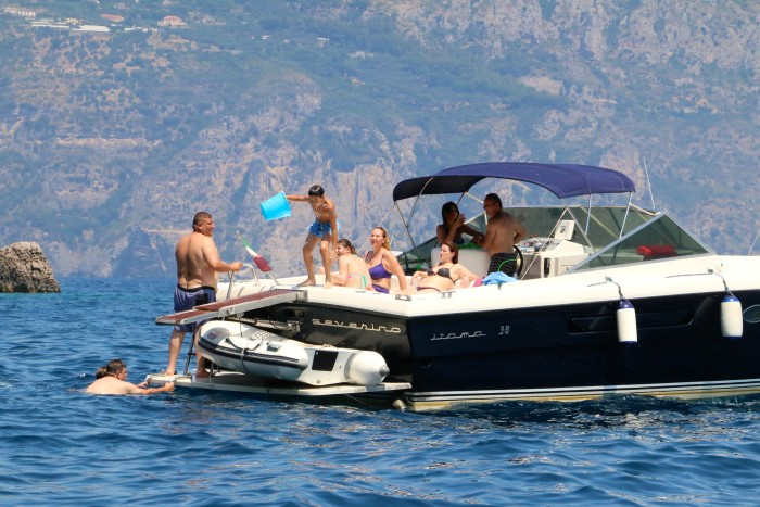 Boating the Amalfi Coast Italy 2